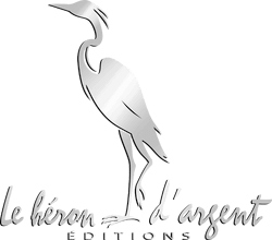 logo editions heron argent